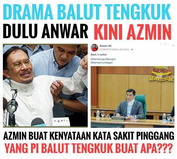 Balut Tengkuk : Drama Pembangkang Untuk Raih Simpati & Tipu Rakyat