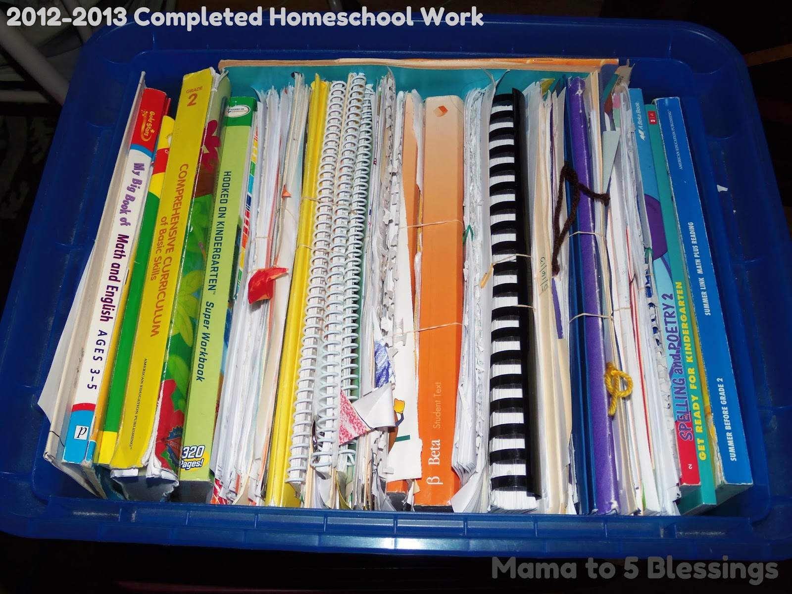 ALL ORGANIZED FOR OUR NEW HOMECHOOL YEAR - LEARN & LINK