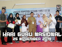 Sejarah Peringatan Hari Guru Nasional 25 November