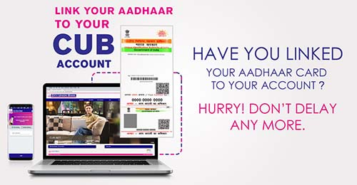 How to Link Aadhaar with City Union Bank Account