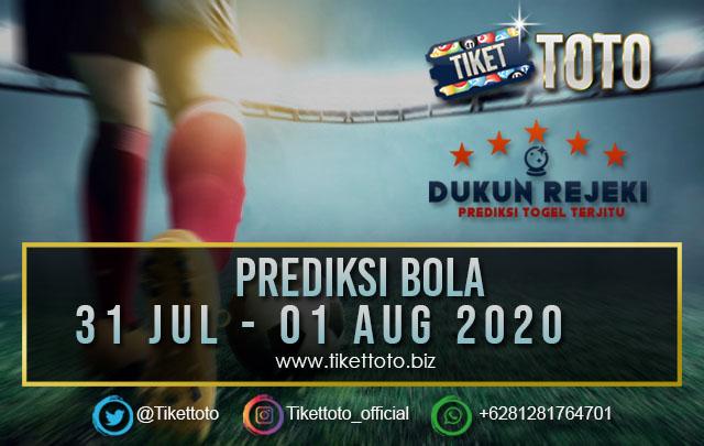 PREDIKSI PERTANDINGAN BOLA  31 Jul – 01 Aug 2020