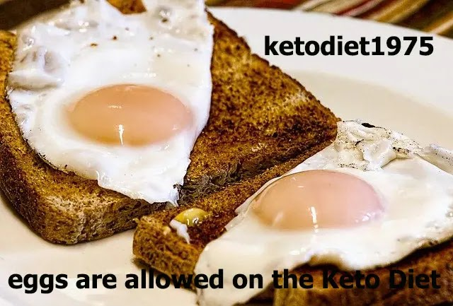 eggs are allowed on the Keto Diet