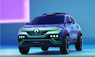 RENAULT KIGER - FRONT ANGLE VIEW