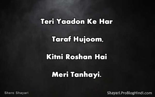 shero shayari in urdu