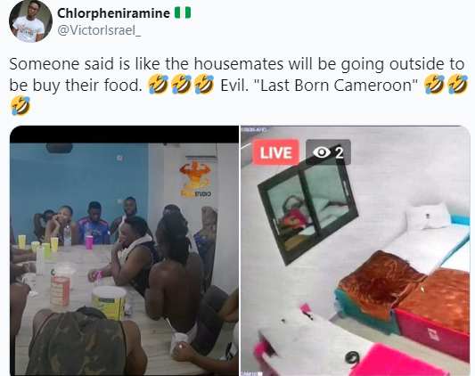 Nigerians make jest of Cameroonians after photos of their version of Big Brother show surfaced online