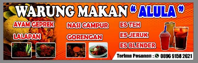 Warung Makan Alula, Sahabat Perut dan Kantong Mahasiswa