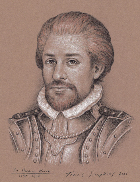 Sir Thomas North. Translator of Plutarch's Lives. Shakespeare source Author. by Travis Simpkins