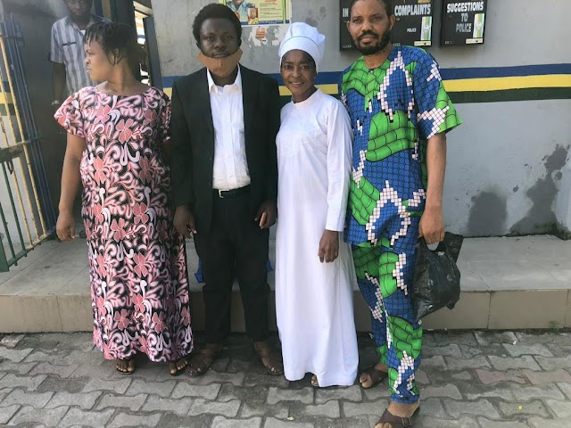 Freedom finally came the way of Prophetess Evelyn Owoleke of Cherubim and Seraphim Church, Bayo Ajao Street Aboru area of Lagos following the dismissal of the murder case against her and three others at the Lagos state Magistrate.