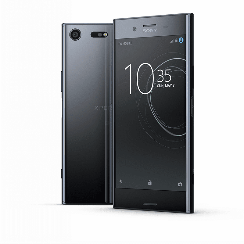Sony Xperia XZ in deep sea black