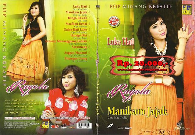 Rayola - Manikam Jajak (Album Pop Minang Kreatif)