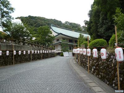 宝蔵神社参道