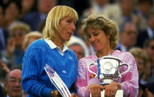 Martina Navratilova y Chris Evert, grandes rivalidades deportivas de la historia