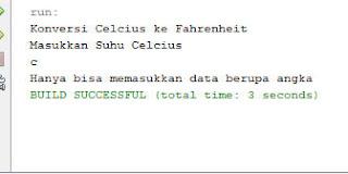 hasil run program try catch java