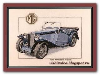 """Heritage Crafts Серия: Cars """"1936 Magnette"""""""