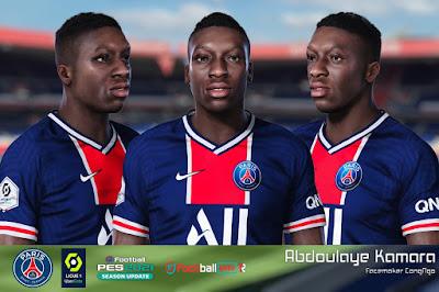 PES 2021 Faces Abdoulaye Kamara by CongNgo