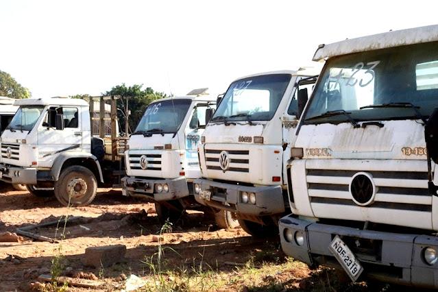 Prefeitura de Jaru, RO, realiza leilão on-line de bens recuperáveis e sucatas