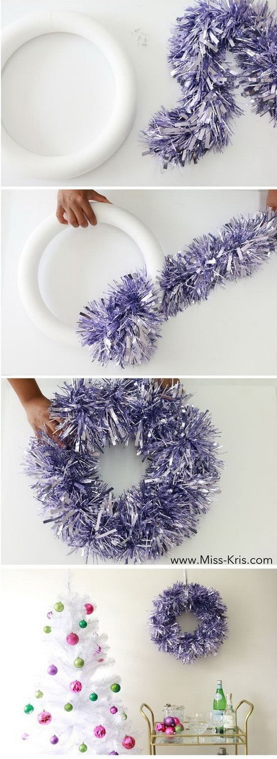 Festive DIY Christmas Wreaths With Lots Of Tutorials