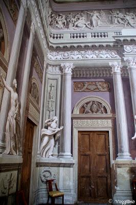 Affreschi del Salone d'Onore del Castello Reale di Govone