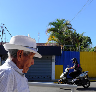 Man on the street in Puriscal
