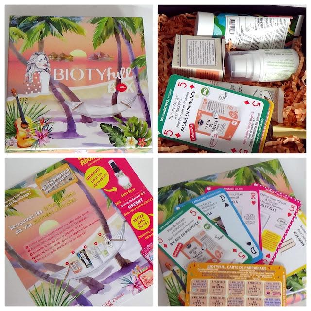 Biotyfull Box de Juin 2019 - La Tropicale