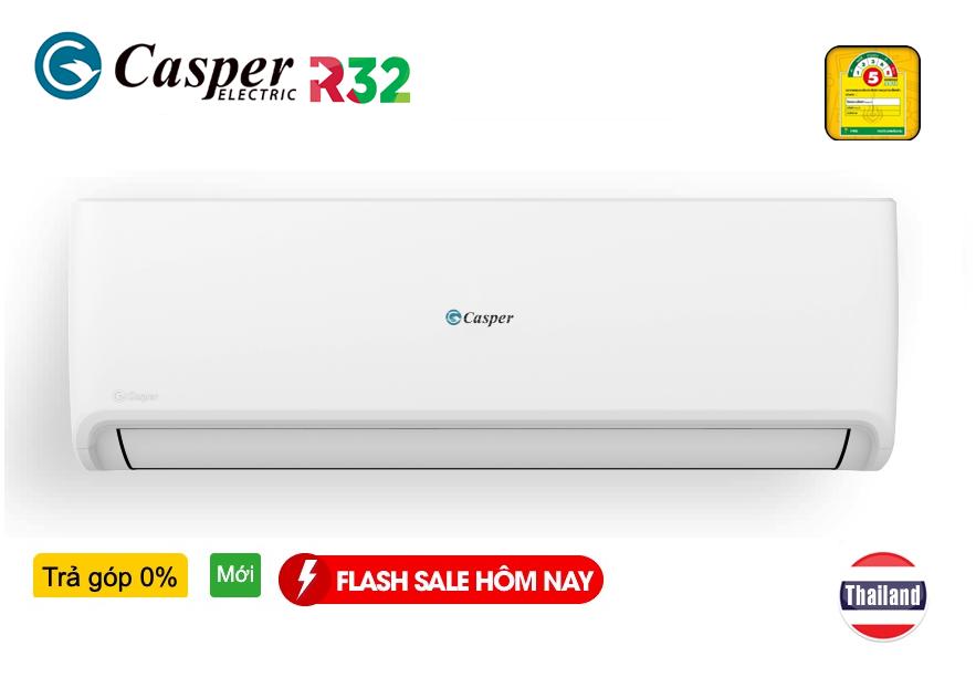 Điều hòa Casper 9000 BTU 1 Chiều inverter GC-09IS32 Trả Góp 0%, 0 đ | CASPER GC09IS32