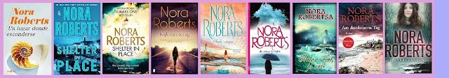 Reseña de la novela negra con toque romántico Un lugar donde esconderse, de Nora Roberts