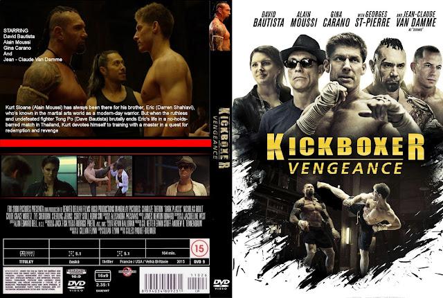 Kickboxer: Vengeance DVD Cover