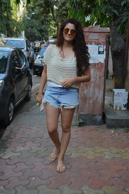 Wild Dog Telugu Film Actress Saiyami Kher Hot Photo Stills Navel Queens