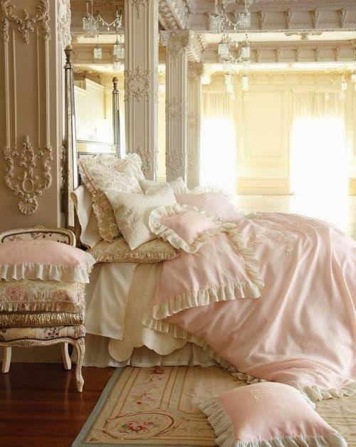 Dormitorios rom nticos para ni as y adolescentes - Dormitorio estilo romantico ...