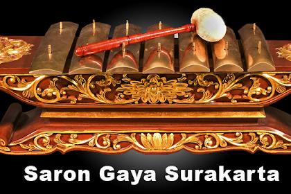 Saron Gamelan Jawa