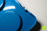 Tray Boden Kante: Andrew James – Verstellbarer Kuchentransportbehälter 2 Etagen – Hält Bis Zu Zwei Große Kuchen Oder 24 Cupcakes – Mit 2 Cupcake-Einsätzen – 2 Jahre Garantie