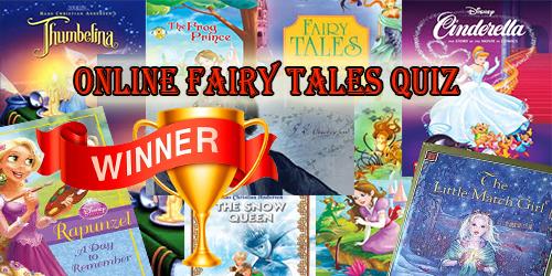 Online Fairy Tales Quiz - Winners