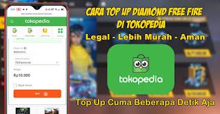 Cara Top Up Diamond Free Fire Di Tokopedia