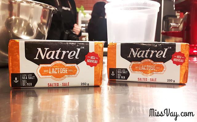 beurre sans lactose Natrel