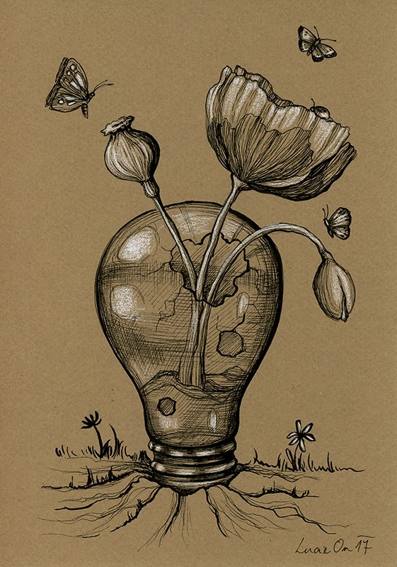 03-July-Lucie-Ondruskova-LucieOn-A-Glimpse-of-Fairyland-Animals-in-Drawings-www-designstack-co