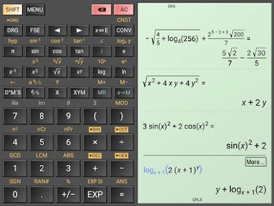 تطبيق حل مسائل الرياضيات المعقدة HiPER Calc Pro مدفوع للأندرويد