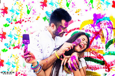 Holi Couple Pictures, Images