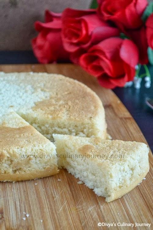 Eggless Vanilla Cake Recipe In Pressure Cooker