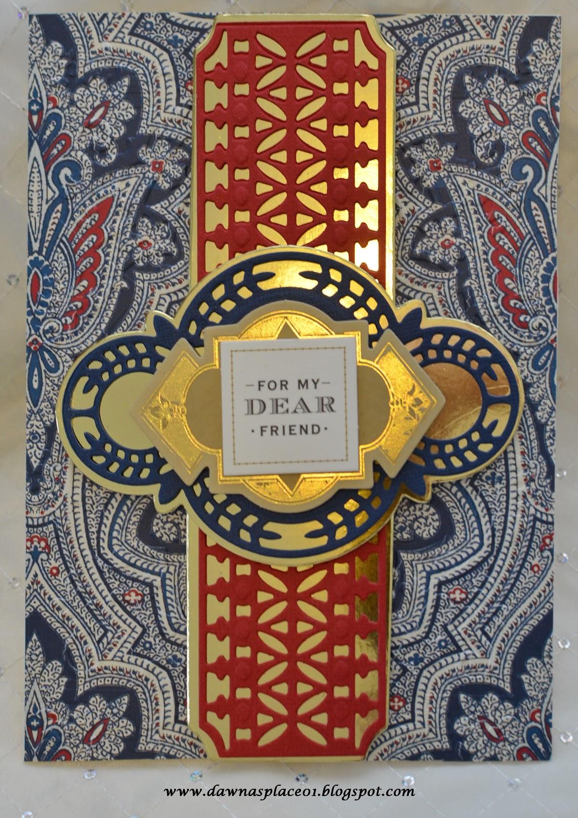 dawna's place 4 beautiful masculine cards