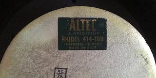 "Altec Model 414-16B 12"" woofer (sold) Altec%2Bx%2B3"