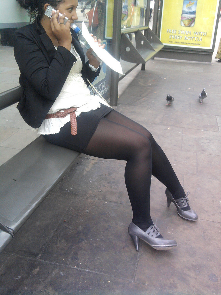 High Heels Und Leggings