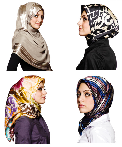 Fashion Blog: Hijab Styles and Fashion in 2012