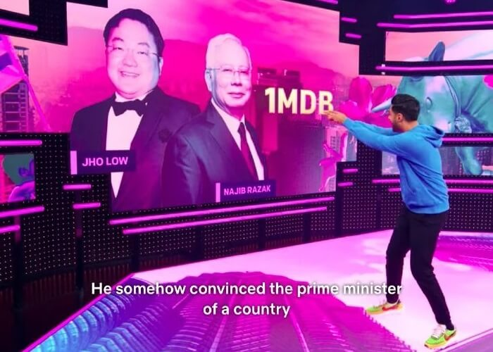 Najib Jho Low Penyamun