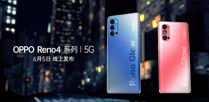 OPPO Reno4 series with 5G, 65W fast charging to arrive on June 5
