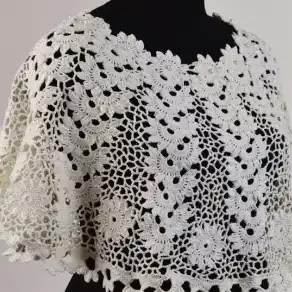 Espectacular Poncho a Crochet
