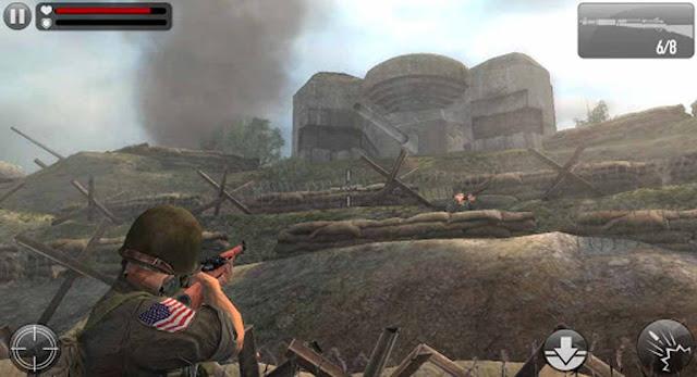 تحميل لعبة Frontline Commando D day مهكره باخر اصدار