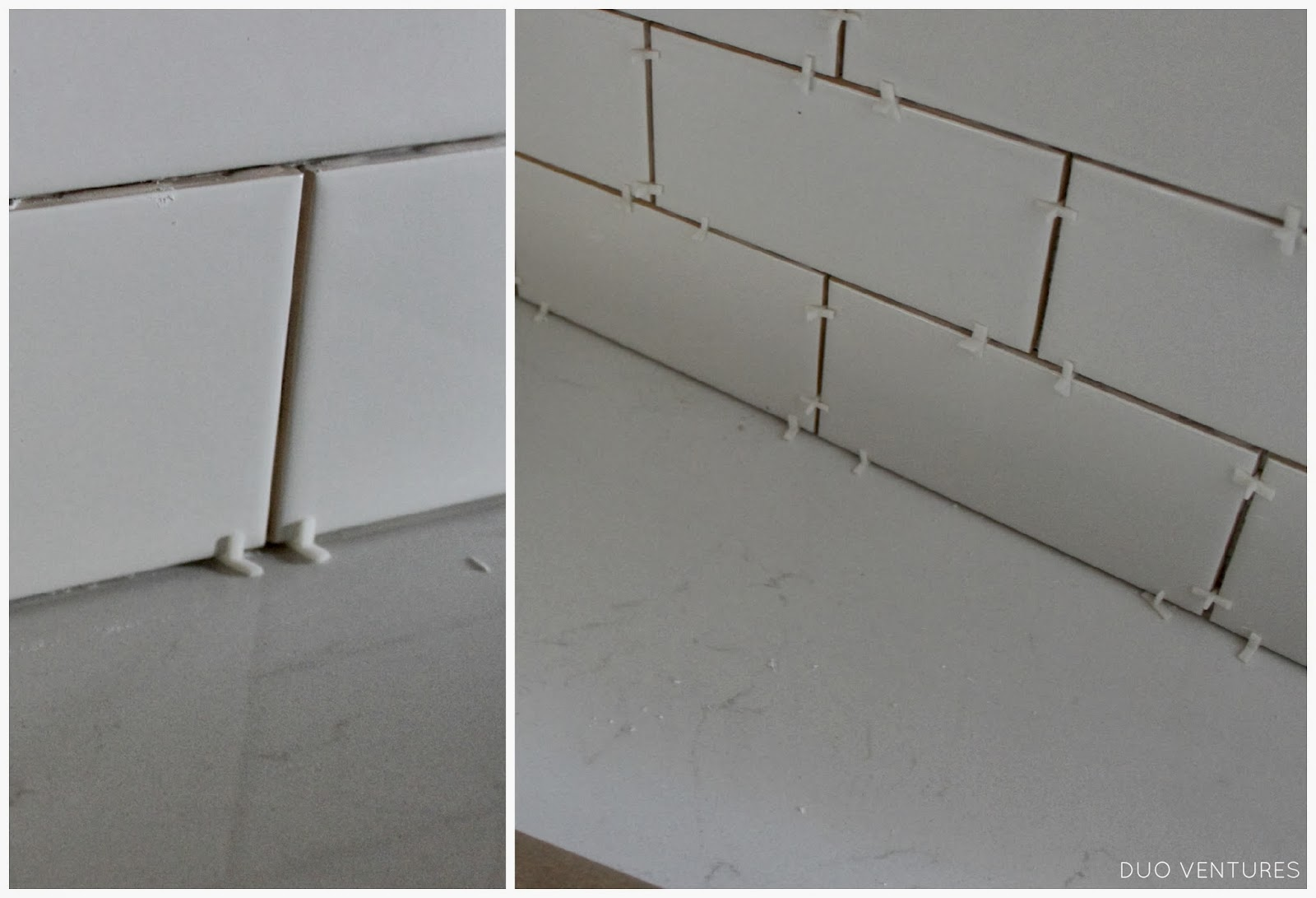 Duo Ventures: Kitchen Makeover: Subway Tile Backsplash