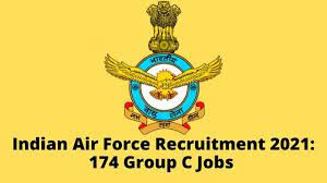 Indian Air Force Recruitment 2021, 174 Group C Civilian vacancies, Apply @ indianairforce.nic.in