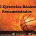 Diez ejercicios básicos de baloncesto