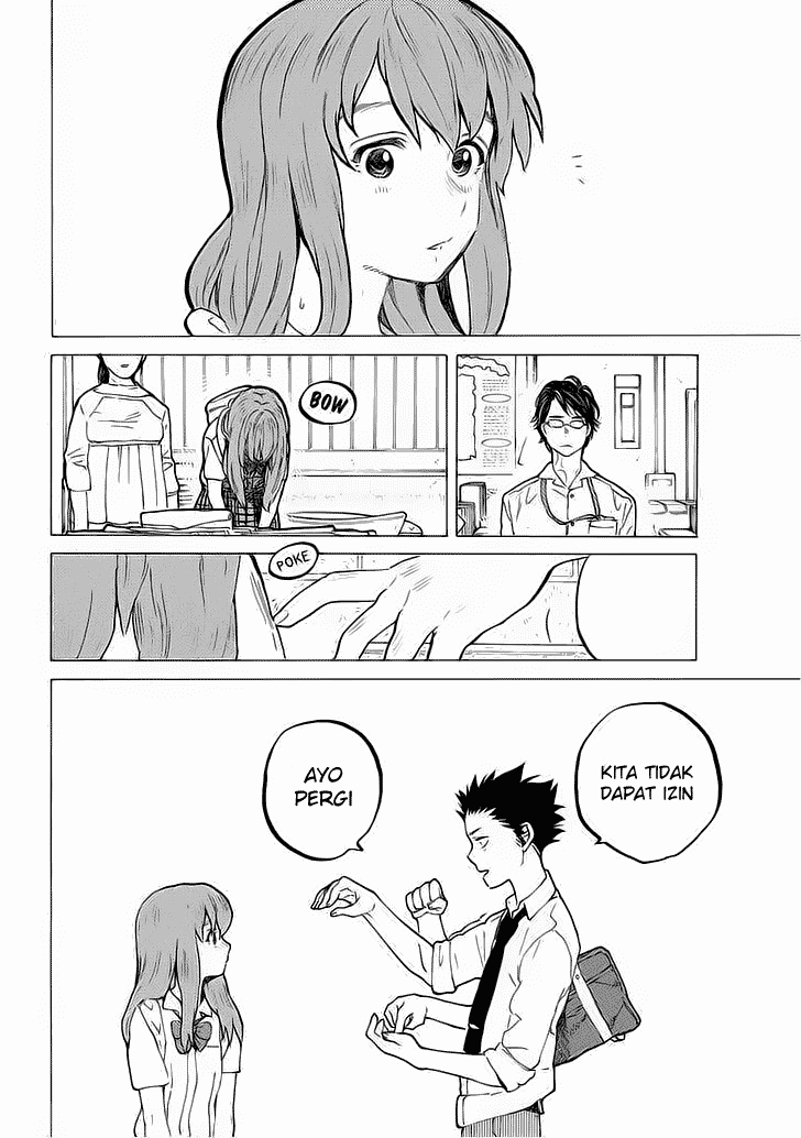Koe no Katachi Chapter 35-15